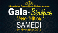 5ème édition du Gala bénéfice annuel organisé par l'association Pour un Maroc Meilleur