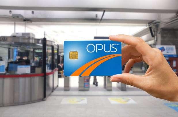 La recharge à distance de la carte Opus en 2015