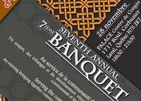 7ème banquet annuel du Forum Musulman Canadien