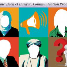 Rubrique ''Deen et Dunya'' Techniques de Communication Productive