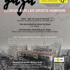 GAZA: BLOCUS SUR LES DROITS HUMAINS