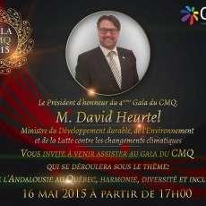 4ième Gala d'excellence du Congrès Maghrébin Au Québec