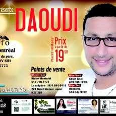 Le Roi de chaâbi Daoudi à Montréal
