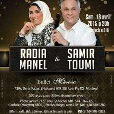 Montréal reçoit Radia Manel & Samir Toumi