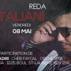 Reda Taliani @ Club Soda