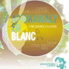 Cabaret Ô Mille Couleurs - AfrikaWaly en Blanc
