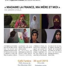 Projection-Débat Madame la France, ma mère et moi