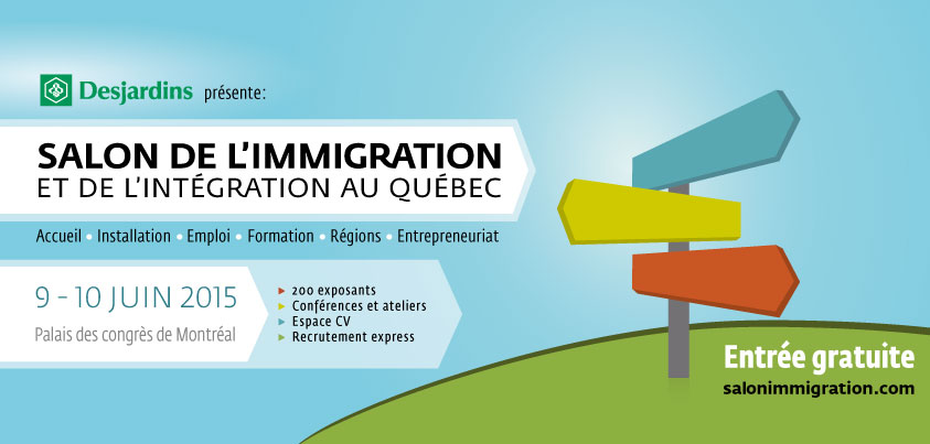 Salon de l 39 immigration et de l 39 int gration au qu bec for Salon de the quebec