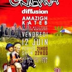 GNAWA DIFFUSION à MTL pour les 30 ans de FOFI Double Show