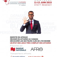Convention d'affaires Canada-Afrique 2015