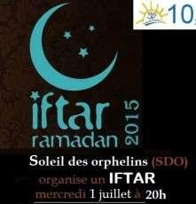 IFTAR Soleil Des Orphelins (SDO)