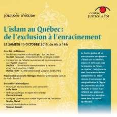 L'islam au Québec de l'exclusion à l'enracinement