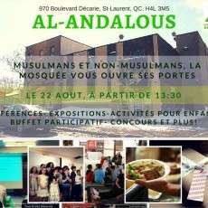 Journée Portes Ouvertes - Mosquée Al-Andalous