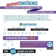 6@8 Ordre des Ingénieurs du Québec et processus d'admission