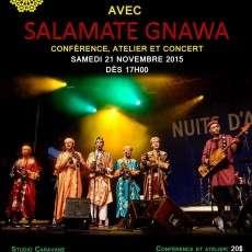 Les Gnawa du Maroc avec Salamate Gnawa