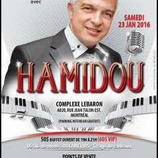 Souper-Spectacle avec Hamidou