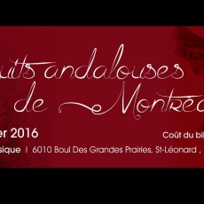 Les Nuits Andalouses de Montréal