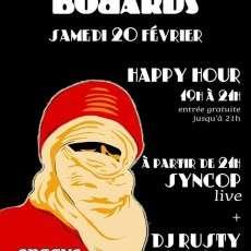 Syncop avec invité spécial Face-T DJ Rusty - Party d Adieu Les Bobards