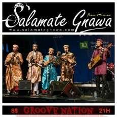 Salamate Gnawa au Groove nation