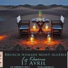 Brunch Nomade Mont-Algérie