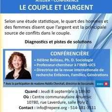 Conférence Couple et l argent