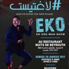 DAR Al Maghrib et Regalpub présentent le spectacle EKO L'artiste