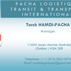 PACHA LOGISTIQUE - Transit & Transport International