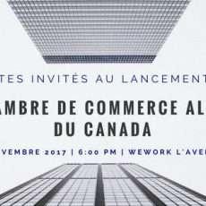 Lancement de la Jeune Chambre de Commerce Algérienne du Canada