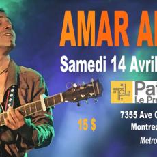 Amar Amarni à Montréal - Concert + Projection
