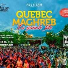 Québec Maghreb la Grande fête 2018