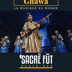 Soirée 100% traditionnelle Gnawa !
