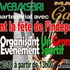 Célébration du 56ième anniversaire de l'Algérie