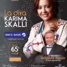 La diva Karima Skalli à Montréal