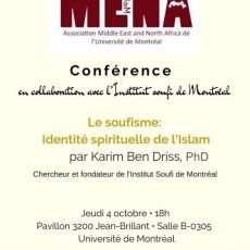 Le soufisme : Identité spirituelle de l'Islam
