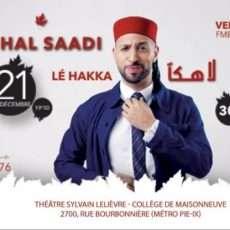 Nidhal Saadi à Montréal